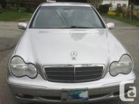 Year : 2002  Make : Mercedes-benz  Model : C-Class