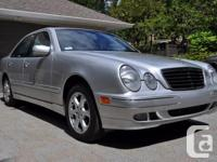 Make Mercedes-Benz Model E320 Year 2002 Colour Silver