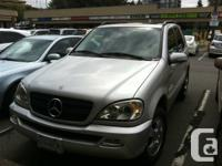 2002 Mercedes-Benz M-Class ML 320 4dr 6Cyl Automatic,