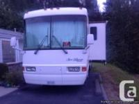 2002 National Sea Breeze Bus 34Ft Class-A Motorhome.