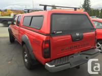Make Nissan Model Frontier 4WD Year 2002 Colour Red