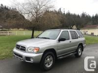 Make Nissan Model Pathfinder Year 2002 Colour Silver