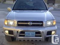 2002 NISSAN PATHFINDER LE V 6  3.5 engine 166000 KM