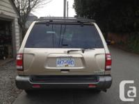 Make Nissan Model Pathfinder Year 2002 Colour Gold kms