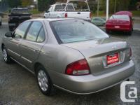 Make Nissan Model Sentra Year 2002 Colour Sage kms
