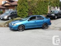 I have a 2002 Nissan sentra SE-R spec v for sale. its