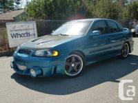 2002 Nissan Sentra SE-R Spec V Must see lot's done,