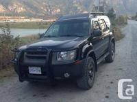 2002 Nissan Xterra Super Charged available for sale.