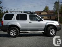Make Nissan Model Xterra Year 2002 Colour Silver kms for sale  British Columbia