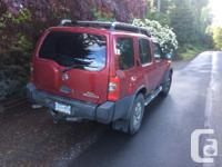 Make Nissan Model Xterra Year 2002 Colour Red kms