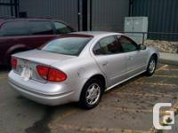 Make Oldsmobile Model Alero Year 2002 Colour silver