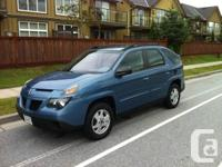 ORIGINAL OWNER SOLD TO ME 1 YEAR AGO USED ONLY BY MY & pontiac aztek tent Cars for sale Canada - buy and sell used autos ...