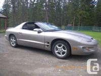 2002 Pontiac Firebird Formula Coupe (Last Year of for sale  British Columbia