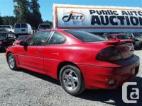 Make Pontiac Model Grand Am Year 2002 Colour Red kms