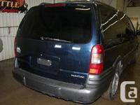 Make Pontiac Model Montana SV6 Year 2002 Colour Blue