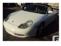 2002 Porsche Boxster 098000KM 5SPEED MANUAL EXTRA CLEAN