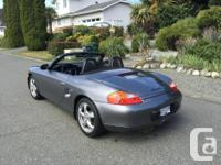 Make Porsche Model Boxster Year 2002 Colour Dark Grey
