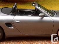 Make Porsche Model Boxster Year 2002 Colour Seal Grey