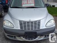 2002 PT Cruiser, bought as a driver for the winter