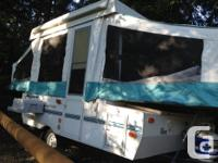2002 Rockwood Tent Trailer. Great shape. No mould, no