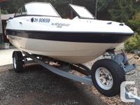 Fun and Fast jet boat. Bowrider, seats up to 8 people,