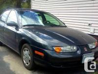 2002 Saturn SL1 - $1,500 - AS IS.  Females vehicle
