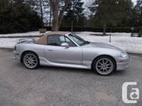 For Sale $10,990.00 Seldom seen 2002 Miata with tan