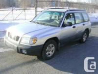 2002 Subaru Forester - AWD -    - 4 Door, 4 Cylinder,