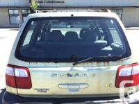 Make Subaru Model Forester Year 2002 Colour Gold kms
