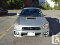 Make Subaru Model Impreza WRX Year 2002 Colour Silver