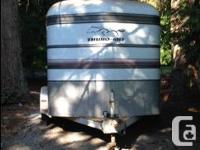 Two horse angle haul, Thuro Bilt horse trailer with
