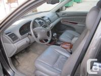 Make Toyota Model Camry Year 2002 Colour Grey kms