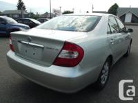 Make Toyota Model Camry Year 2002 Colour Silver kms