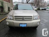 Make Toyota Model Highlander Year 2002 Colour Gold kms