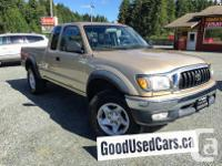 Make Toyota Model Tacoma Xtra Year 2002 Colour Gold
