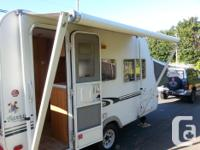 We are selling our 2002 Hybrid Trailer. It is 17 feet