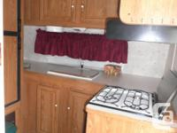 Perfect trailer for a small family. 21 ft Salem by