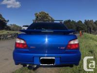 Make Subaru Model Impreza WRX STi Year 2002 Colour
