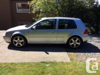 Make Volkswagen Model Golf GTI Year 2002 Colour Silver