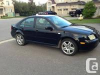 Selling a used 2002 Volkswagen Jetta 1.8t GLS Sedan -