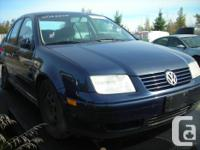 DISMANTLING 2002 VW JETTA 1.8T FOR PARTS, REAR END