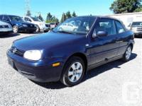 Make Volkswagen Model Cabrio Year 2002 Colour blue kms for sale  British Columbia