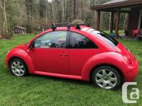Make Volkswagen Model Beetle Year 2002 Colour Red kms