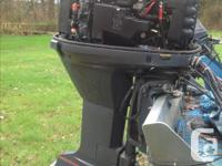 Complete running 250 outboard engine wiring harness and