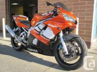 2002 Yamaha YZFR6. $5299. 33,000kms. Serviced. Muzzy