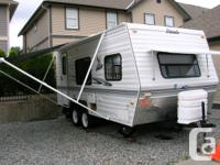 Mint cond 19' Nash, comes with 2-30lb propane tanks,