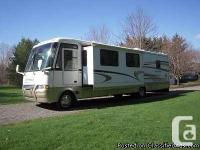 2003 Newmar Scottsdale 38Ft Class-A Motorhome. Ford V10
