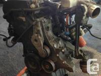 I HAVE FOR SALE A COMPLETE AMB 1.8 L ENGINE(HEAD AND