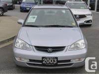 Make Acura Model EL Year 2003 Colour Silver kms 165172