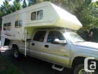 100 WS Adventurer truck camper:  2003 - 10' - 1054 kg